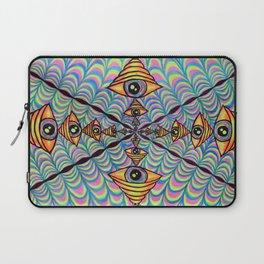 No Worries, I'm Friendl-eye Laptop Sleeve