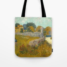 Vincent van Gogh - Farmhouse in Provence Tote Bag