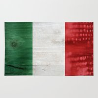 italy Area & Throw Rugs featuring Italy by Arken25