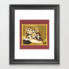 The Anatomy Lesson by Rembrandt Framed Art Print