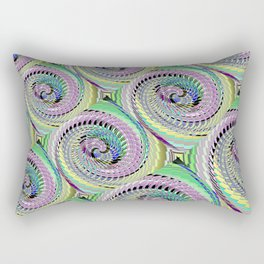 Colorful Decorative Buns #3 Rectangular Pillow