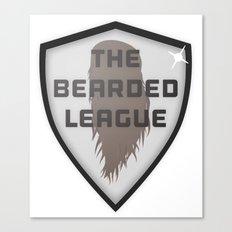 The Bearded League Canvas Print