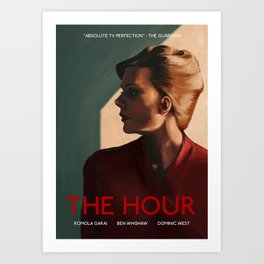 Bel Rowley (The Hour) Art Print
