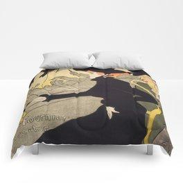 """Henri de Toulouse-Lautrec """"Divan Japonais"""" Comforters"""
