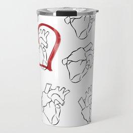 Heart Travel Mug