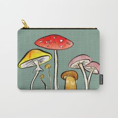 Woodland Mushrooms Carry-All Pouch