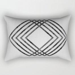 Minimalist watercolor and fashion II Rectangular Pillow