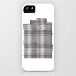 Pieces of Silver iPhone Case