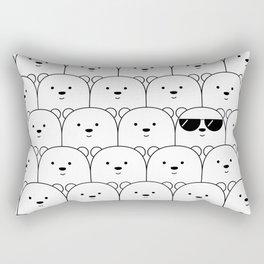 That Cool Polar Bear Rectangular Pillow