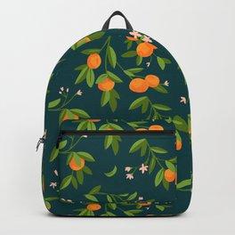 Citrus Tree - Navy Backpack