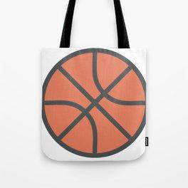 Basketball Icon Tote Bag