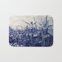 Portuguese Historical Art Bath Mat