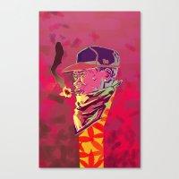 chance the rapper Canvas Prints featuring Chance the Rapper by Dariel Filomeno