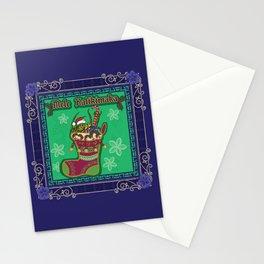 Mele Kalikimaka Stocking Stationery Cards