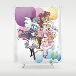 Puella Magi Madoka Magica - Only You Shower Curtain