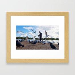 Birdman IV Framed Art Print