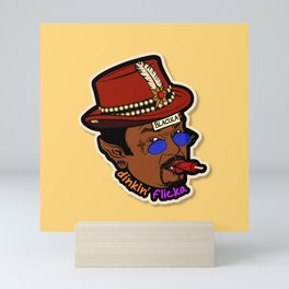 Blacula Mini Art Print