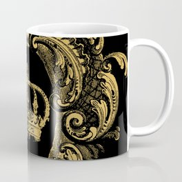 Gold Crown Coffee Mug