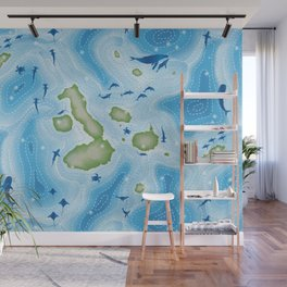 Enchanted Islands Wall Mural