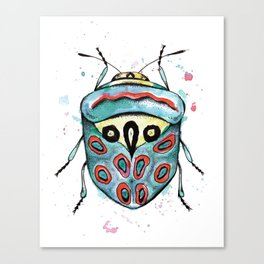The Picasso Bug Canvas Print