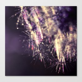 dandelion purple III Canvas Print