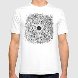 Flower circle T-shirt