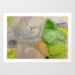 Aquarius Gardens Art Print