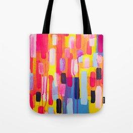 Neon Cities Tote Bag
