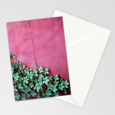 Red Wall Vine Stationery Cards