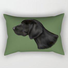 Chomper Rectangular Pillow