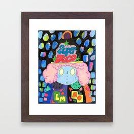 Super Disco Framed Art Print