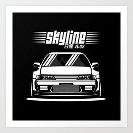 R32 GTR Art Print
