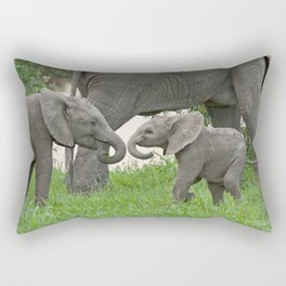 Siblings Rectangular Pillow