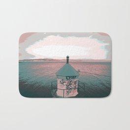 lighthouse. Bath Mat