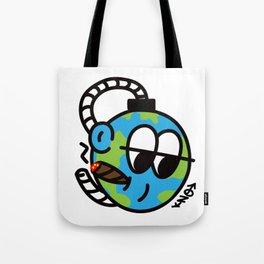 EARTH SELF DESTRUCT Tote Bag