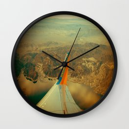 Southwest to LAX Wall Clock