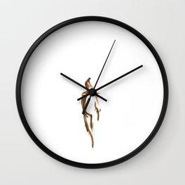 Shy Girl 2.0 Wall Clock