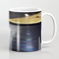 vinyl Mugs featuring Vinyl by Karl Turner