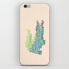 Crocodile in Different Languages iPhone Skin