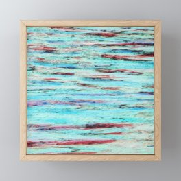 Color gradient and texture 33 Framed Mini Art Print