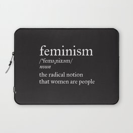 Feminism Definition Laptop Sleeve