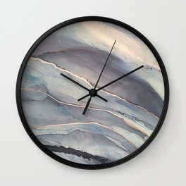 Fluidity VII Wall Clock