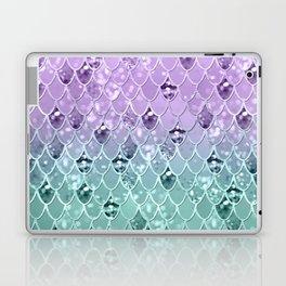Mermaid Princess Glitter Scales #3 #shiny #pastel #decor #art #society6 Laptop & iPad Skin