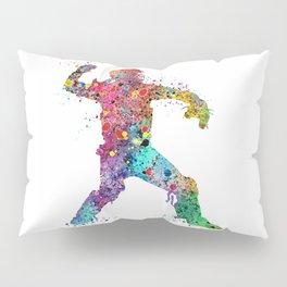 Baseball Softball Catcher 3 Art Sports Poster Pillow Sham