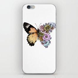 Butterfly in Bloom II iPhone Skin