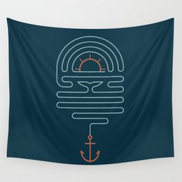 The Tale of the Whale Wall Tapestry