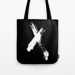 X marks the spot (white) Tote Bag