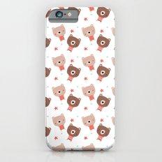 Christmas cute bears Slim Case iPhone 6s