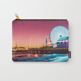 Santa Monica's Pacific Wheel Sunset (Pacific Park) Carry-All Pouch