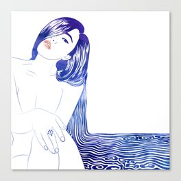 Water Nymph XL Canvas Print